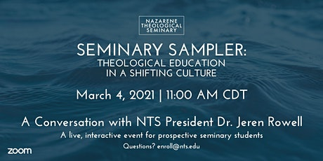 Seminary Sampler: Theological Education in a Shifting Culture tickets