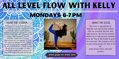 Monday All Level Flow Yoga tickets