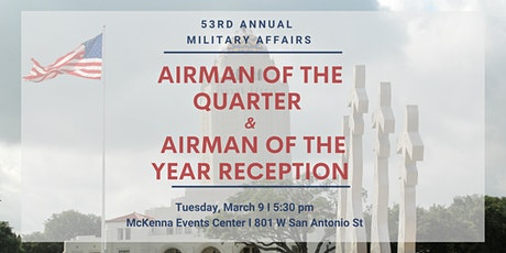 Military Affairs Airman of the 4th Quarter & Airman of the Year Reception tickets