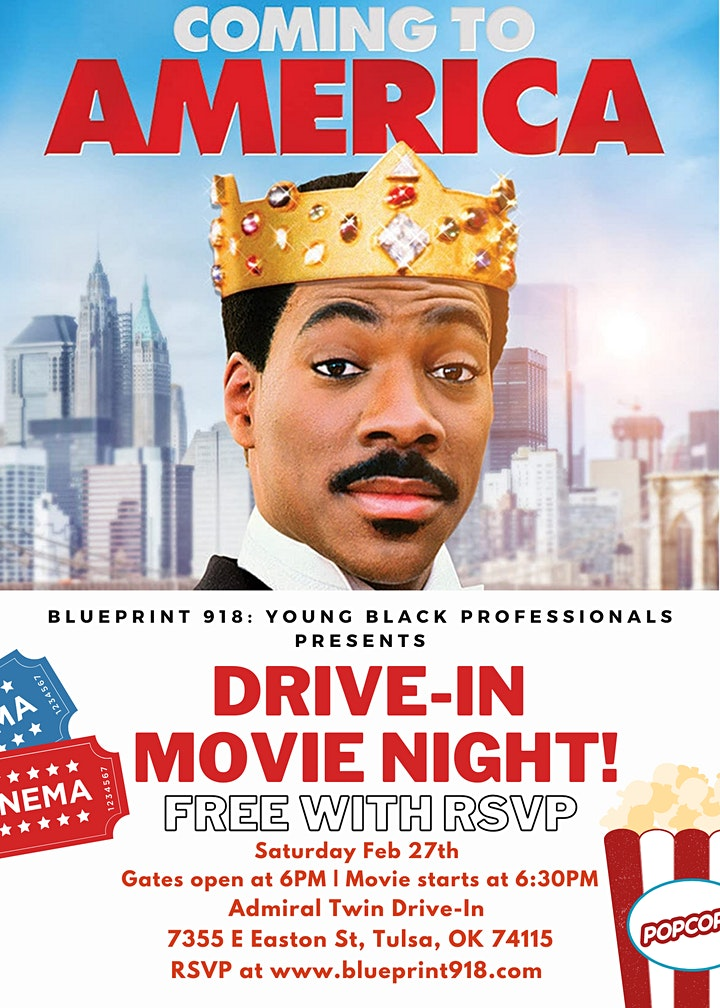Blueprint 918 Presents Drive-in Movie Night image