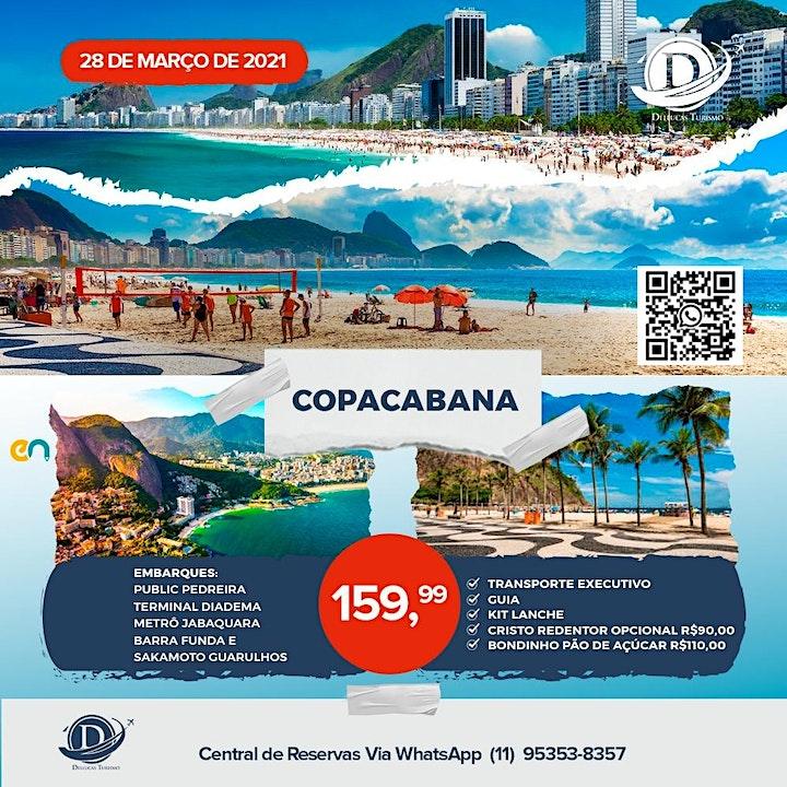 Imagem do evento Day Use Copacabana - 28 de Março