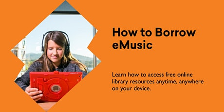 How to Borrow eMusic @ Burnie Library tickets
