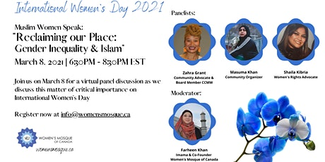 International Women's Day Panel - Gender Inequality and Islam tickets