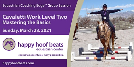 Cavaletti Work Level 2 — Mastering the Basics — Equestrian Coaching Edge™ tickets