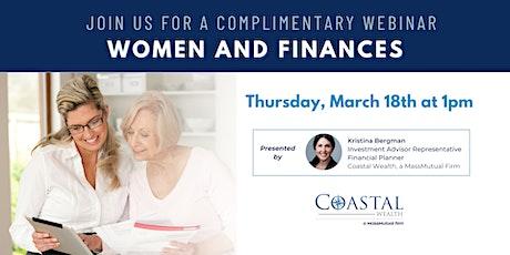 Webinar | Women and Finances tickets