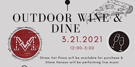 Outdoor Wine & Dine tickets