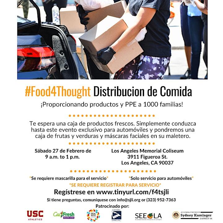 #Food4Thought Produce Pickup/ Distribucion de Comida image