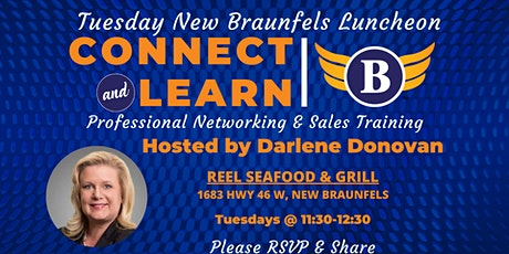 TX | Tuesday New Braunfels - Networking and Sales Training Luncheon tickets