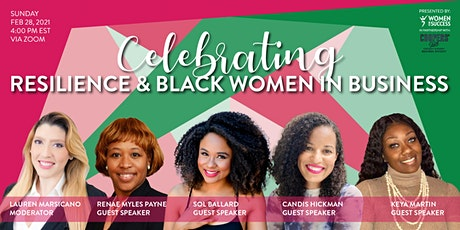 Celebrating Resilience & Black Women In Business tickets