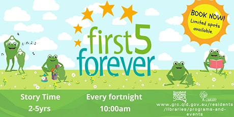 First Five Forever Story Time (2-5years) tickets