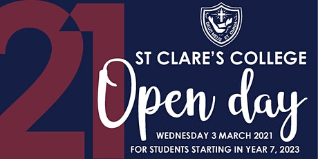 St Clare's College Open Day tickets