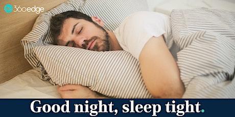 Good night, sleep tight! Helping people who use AOD sleep better (online) tickets