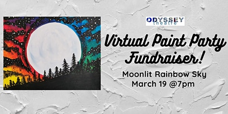 Odyssey Theatre Virtual Paint Party Fundraiser tickets
