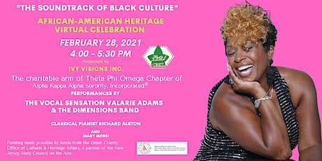 """The Soundtrack of Black Culture,"" A Virtual African-American Celebration. tickets"