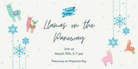 Light Up The Lake - Llamas on the Panoway tickets