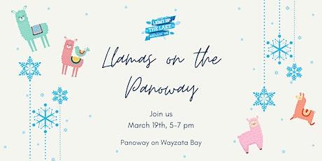 Light Up The Lake - Llamas on the Panoway tickets