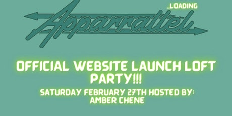 Apparrallel Official Website Loft Party tickets