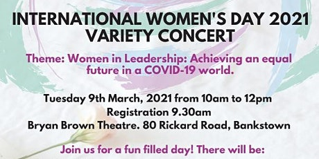International Women's Day Variety Concert tickets