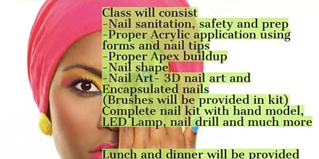 Beginner Nail Workshop tickets