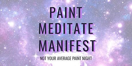 Manifesting Peace & Wellness- Meditate  & Paint Night w/Alycia tickets