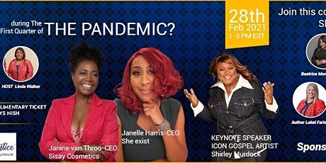 How Can Women Pivot During the First  Quarter of the Pandemic? tickets