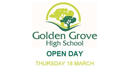 Golden Grove High School Open Day tickets