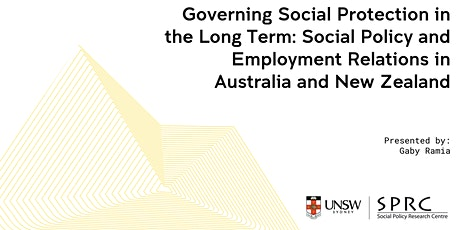 Seminar with Gaby Ramia on Social Policy and Employment Relations tickets