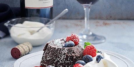 Molten Chocolate Lava Cake & Wine Pairing Class tickets