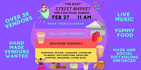 The East Street Market - An Outdoor Shopping Experience tickets