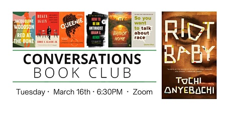 Conversations Book Club: Riot Baby tickets