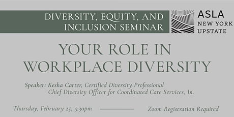 Your Role in Workplace Diversity tickets
