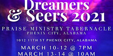 Dreamer & Seers 2021 tickets