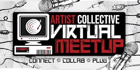 Artist Collective Virtual Meetup tickets