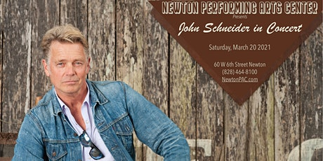 John Schneider in Concert tickets