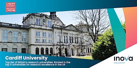 Estudia en Gales en la Universidad de Cardiff - sesión en línea entradas