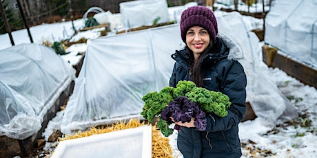 Growing Vegetables Under Cover by Niki Jabbour tickets