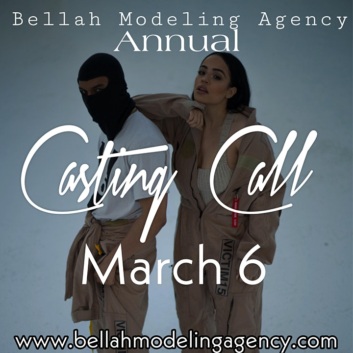 Bellah Modeling Agency Annual Casting Call image