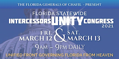 FLORIDA STATEWIDE INTERCESSORS UNITY CONGRESS tickets
