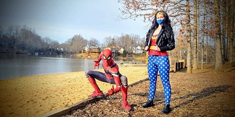 Superheroes Brunch with Spider-Man and Wonder Woman tickets