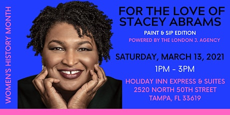 For The Love of Stacey Abrams - Paint and Sip Edition tickets
