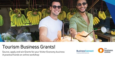 Tourism Business Grants bilhetes