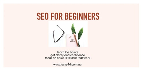 SEO For Beginners, Sunshine Coast Workshop tickets