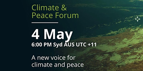 May 2021Climate and Peace Forum tickets