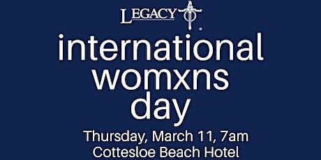International Womens Day with Legacy WA tickets