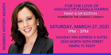 For The Love of Kamala Harris - Paint and Sip Edition tickets