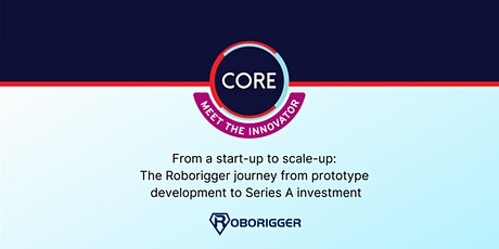Meet the Innovator - Roborigger tickets