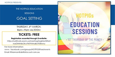 HOT PIGS Education Session tickets