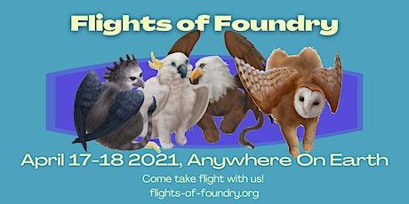 Flights of Foundry 2021 tickets