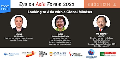 Eye on Asia Forum 2021 | Session 2:  China and India tickets
