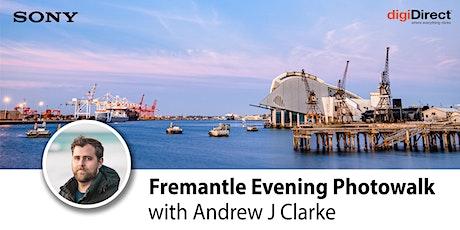 Fremantle Evening Photo Walk - with Andrew J Clarke tickets